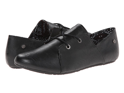 Volcom - Soul Mates (Stoney Black) Women's Lace up casual Shoes