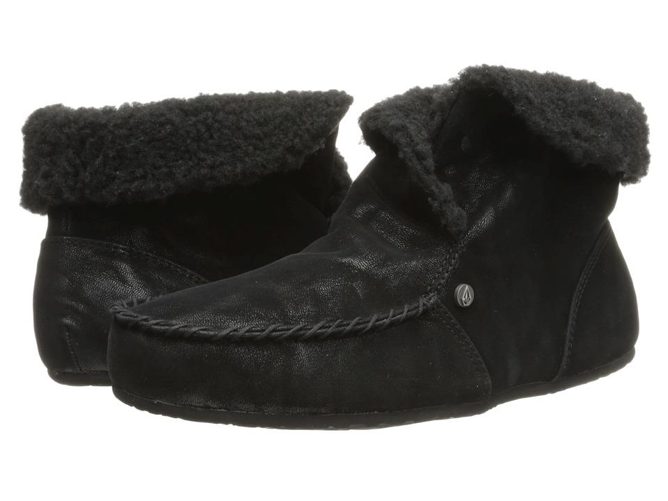 Volcom - Good Spirits (New Black) Women's Slippers