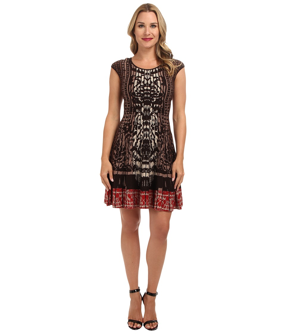 NIC+ZOE - Rise + Set Twirl Dress (Multi) Women