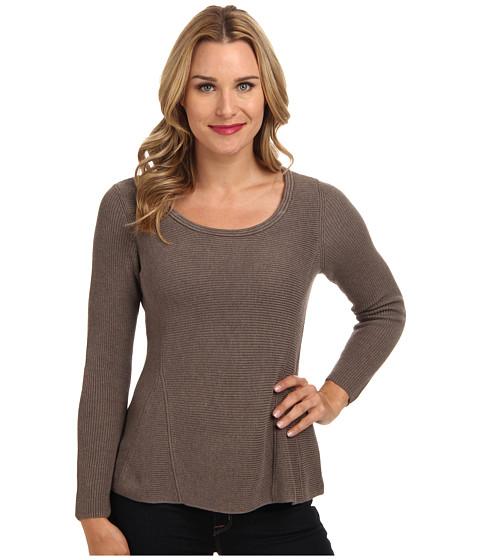 NIC+ZOE - Tumbling Top (Soft Rock) Women's Sweater