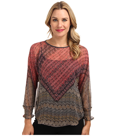 NIC+ZOE - Tundra Rap Shirt (Multi) Women's Blouse