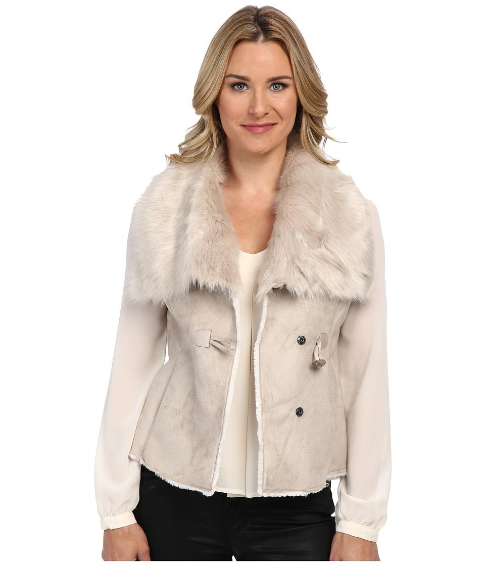 NIC+ZOE - Fabulous Faux Fur Vest (Dark Pearl) Women's Vest