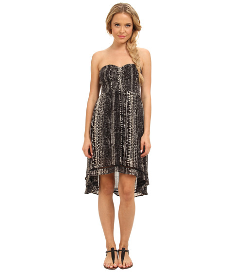 Volcom - La Dee Duh Dress (Black Combo) Women's Dress
