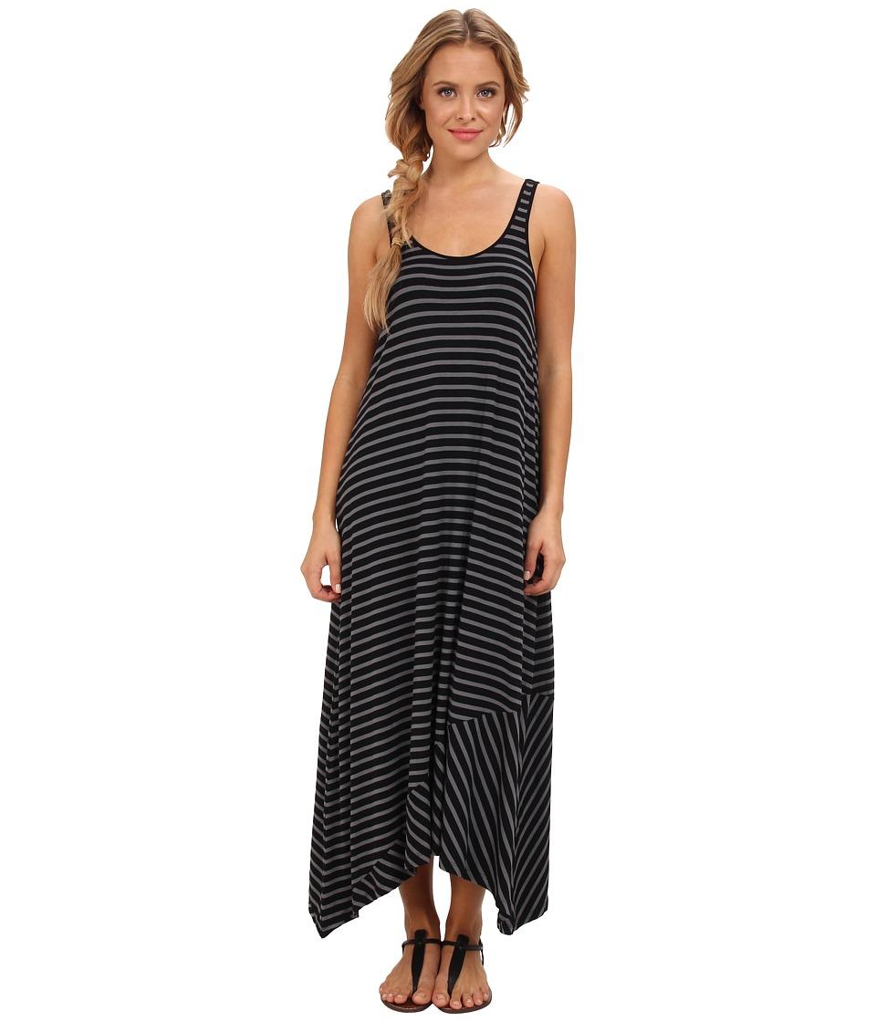 Volcom - Play Along Tank Dress (Black) Women's Dress