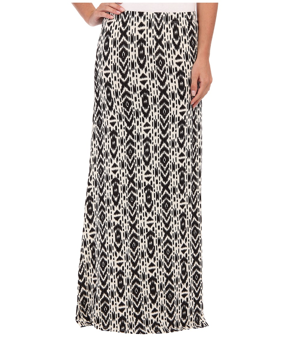 Volcom - Play Along Maxi Skirt (Black Combo) Women's Skirt