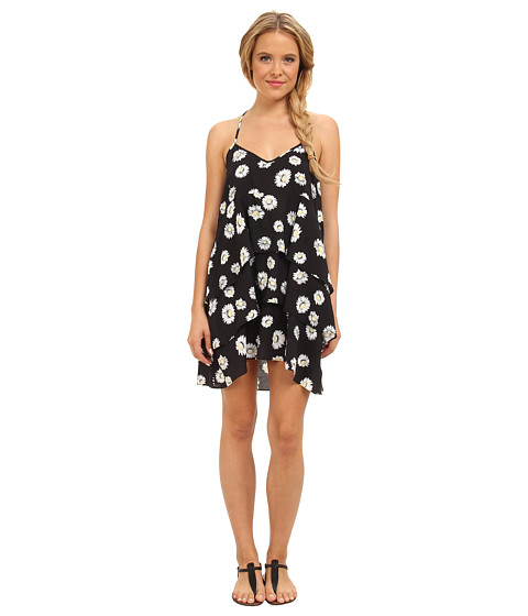 Volcom - Ditsy Dress (Black) Women's Dress