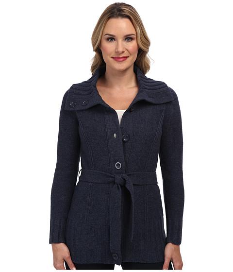Pendleton - Cardi Sweater Coat (Indigo Heather) Women