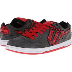 SALE! $15.99 - Save $30 on World Industries Rocker (Grey Red Skulls) Footwear - 65.24% OFF $46.00