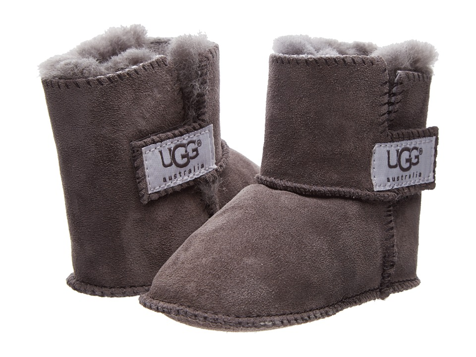 UGG Kids - Erin (Infant/Toddler) (Charcoal) Girls Shoes