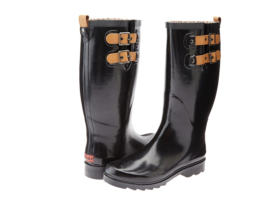 Chooka - Top Solid Rain Boot (Black) Women's Rain Boots