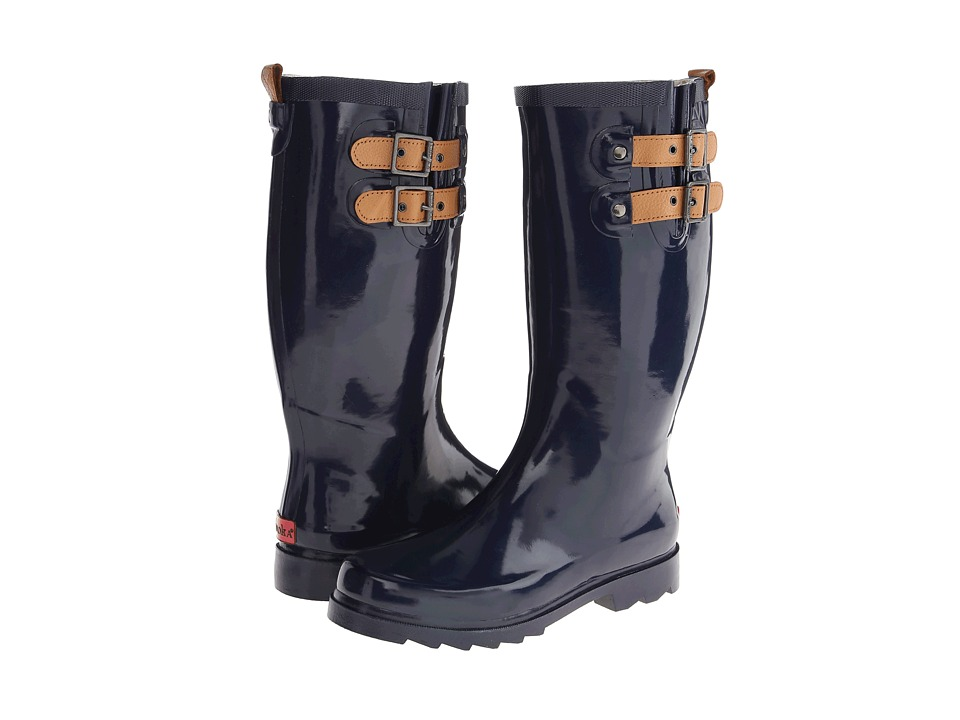 Chooka Top Solid Rain Boot (Midnight) Women