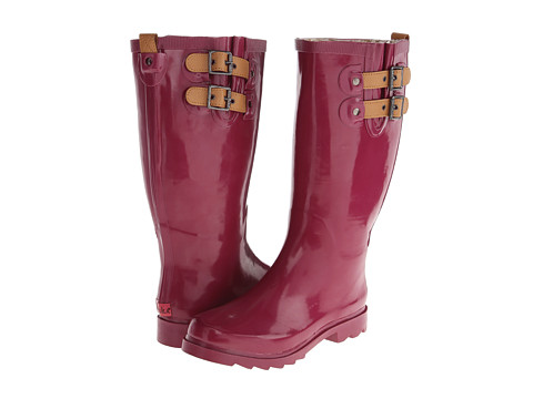 Chooka Top Solid Rain Boot (Deep Mauve) Women's Rain Boots