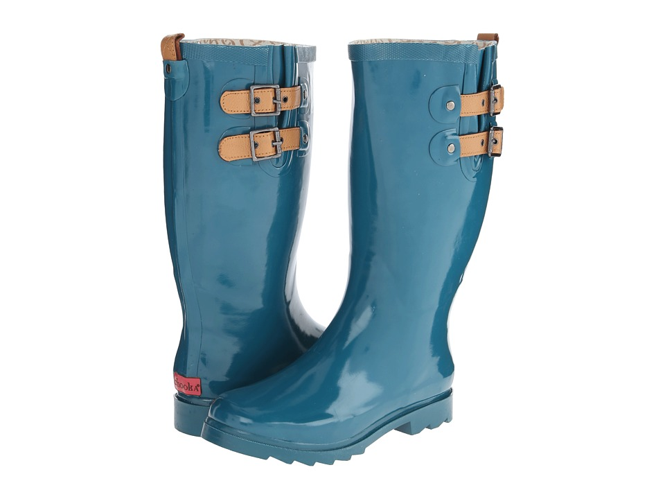 Chooka - Top Solid Rain Boot (Teal) Women's Rain Boots