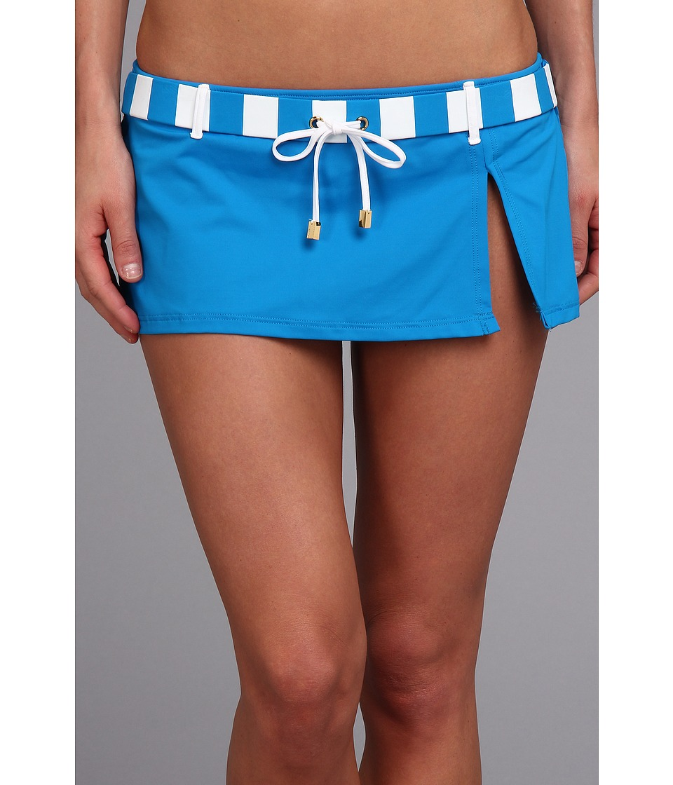 Bleu Rod Beattie - Jailhouse Rock Skirt (Cerulean) Women's Swimwear