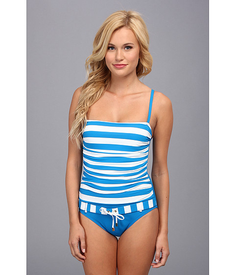 Bleu Rod Beattie - Jailhouse Rock UW One Piece (Cerulean) Women's Swimsuits One Piece