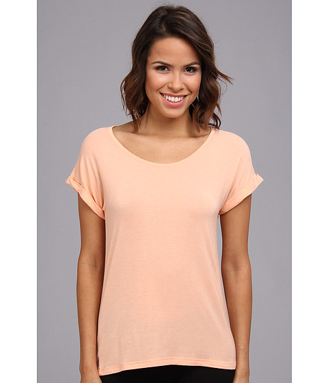 BCBGeneration - The Tubular T-Shirt (Nectar) Women's Short Sleeve Pullover