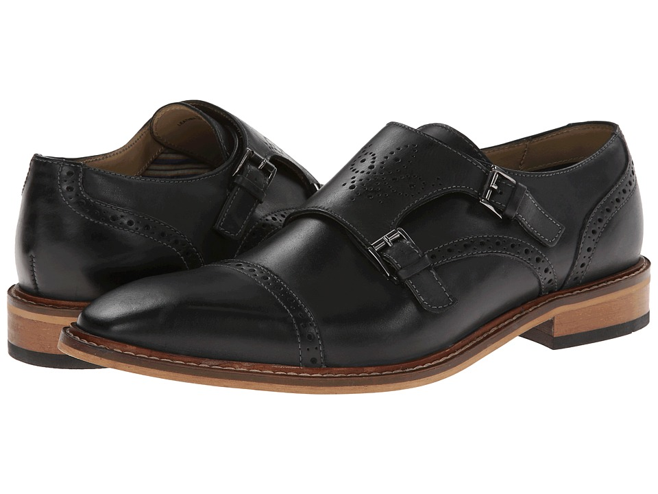 Giorgio Brutini - 24931 (Black) Men's Monkstrap Shoes