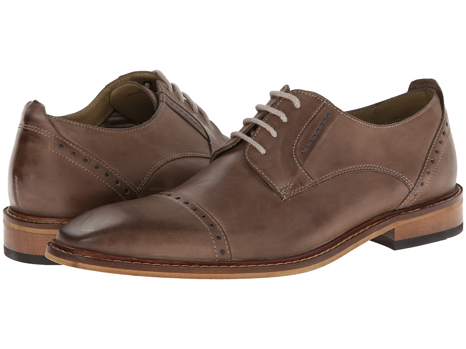 Giorgio Brutini - 24932 (Gray) Men's Lace Up Cap Toe Shoes