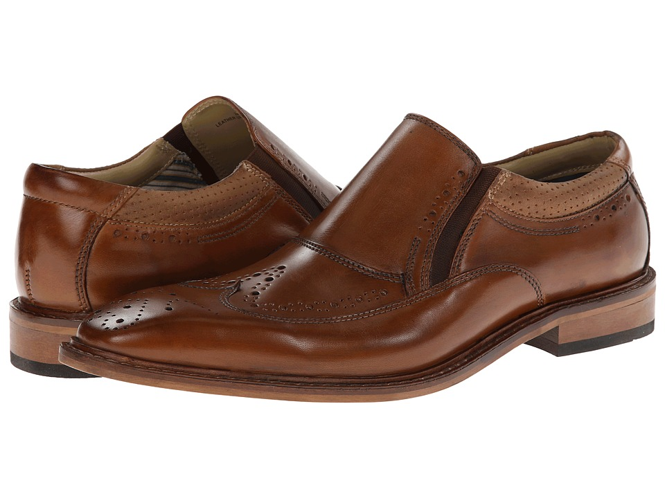 Giorgio Brutini - 24933 (Tan) Men's Slip on Shoes