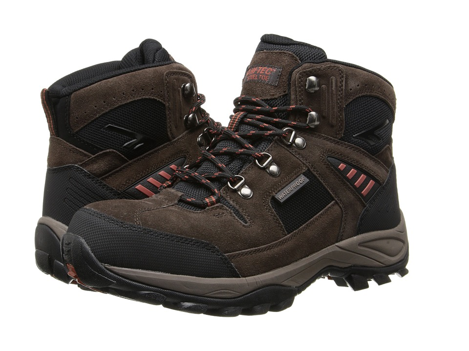 Hi-Tec - Deco Pro Mid ST (Chocolate) Men's Work Boots