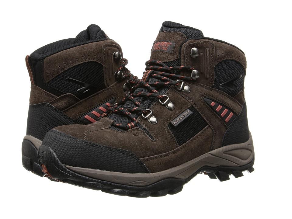 Hi-Tec - Deco Pro Mid ST (Chocolate) Men's Work Boots