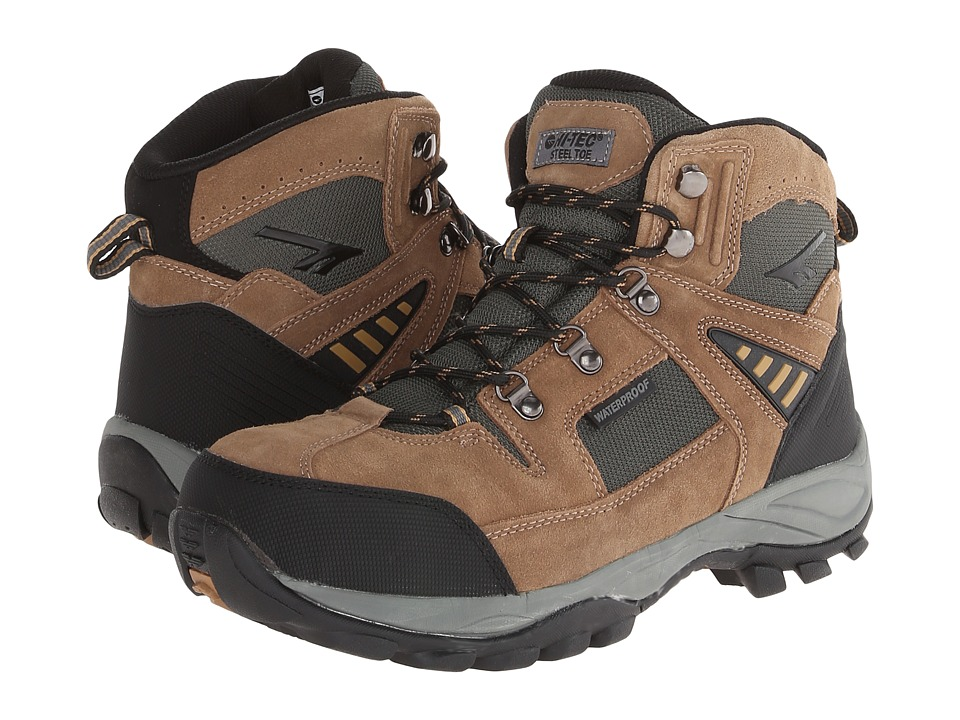 Hi-Tec - Deco Pro Mid ST (Bone) Men's Work Boots