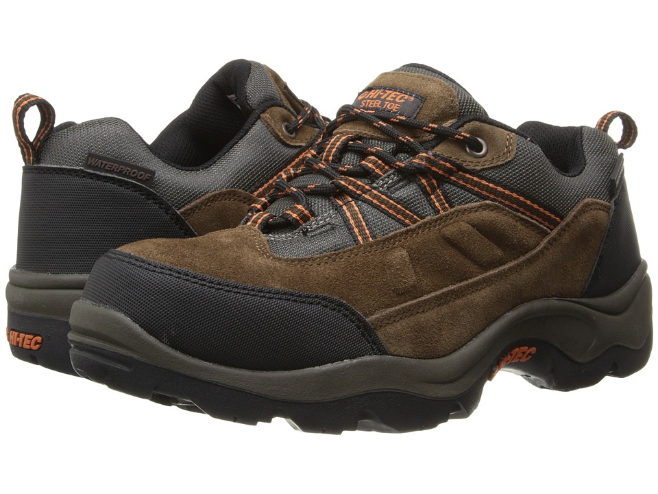 Hi-Tec - Bandera Pro Low ST (Chocolate) Men's Work Boots