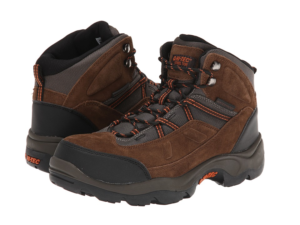 Hi-Tec - Bandera Pro Mid ST (Chocolate) Men's Work Boots