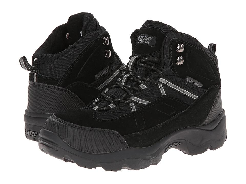 Hi-Tec - Bandera Pro Mid ST (Black) Men's Work Boots