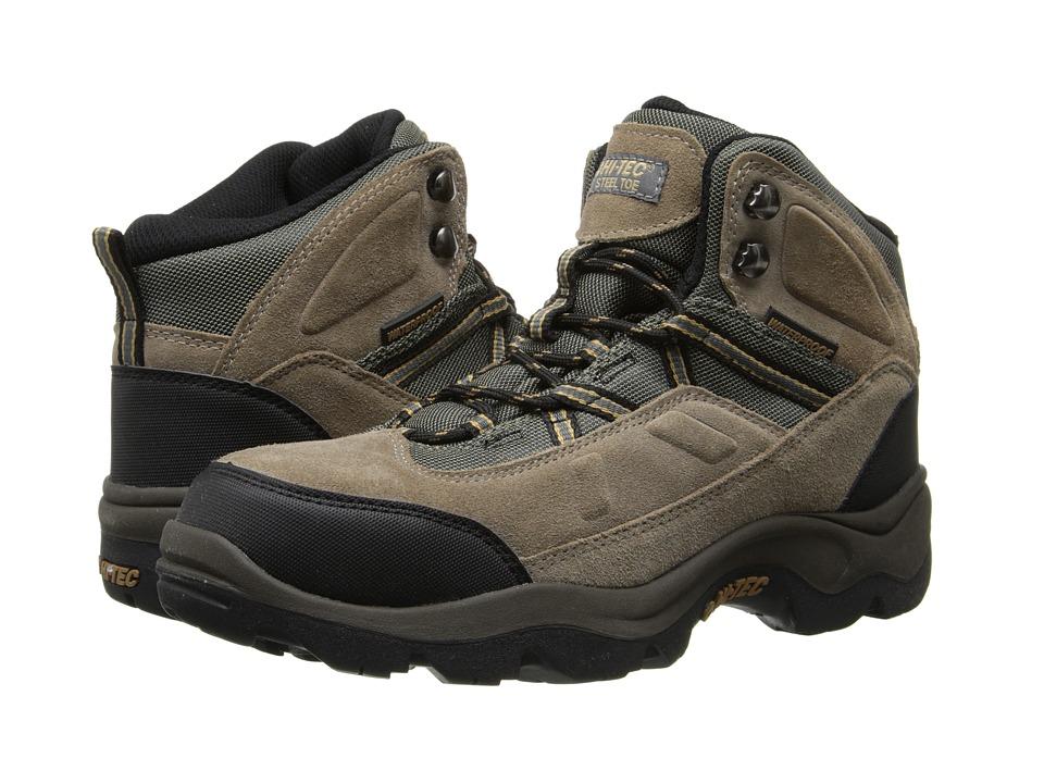 Hi-Tec - Bandera Pro Mid ST (Bone) Men's Work Boots