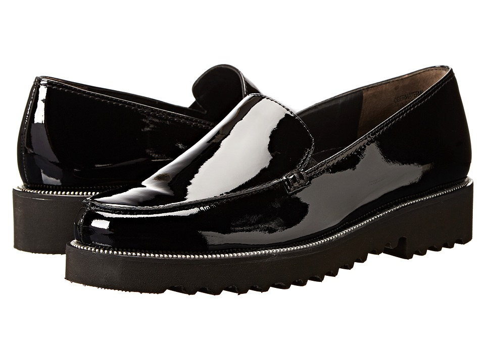Paul Green - Ariana (Black Patent) Women's Slip on Shoes