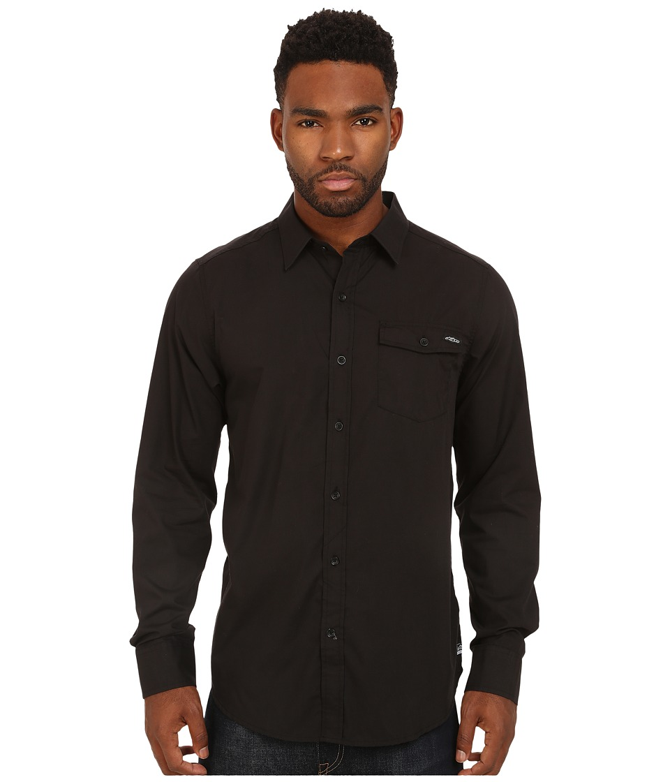 Alpinestars - Bloc Out L/S Shirt (Black) Men's Long Sleeve Button Up