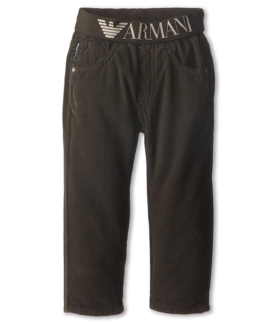 Armani Junior - Pant w/ Armani Stretch Waist (Infant) (Grey) Boy's Casual Pants
