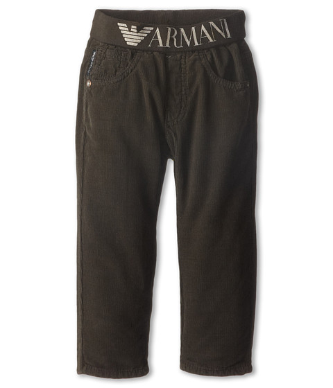 Armani Junior - Pant w/ Armani Stretch Waist (Infant) (Grey) Boy