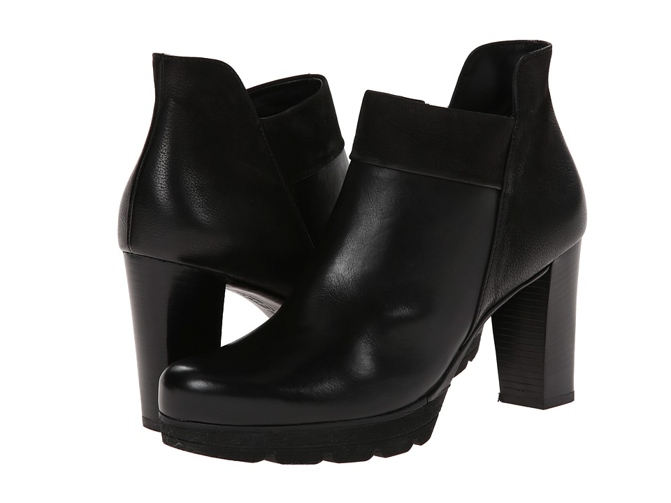 Paul Green - Alissa (Black Leather) Women's Zip Boots