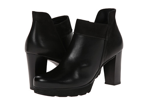 Paul Green - Alissa (Black Leather) Women