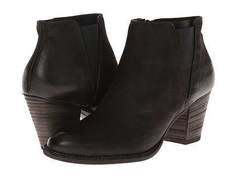 Paul Green - Alicia Boot (Black Nubuck) Women