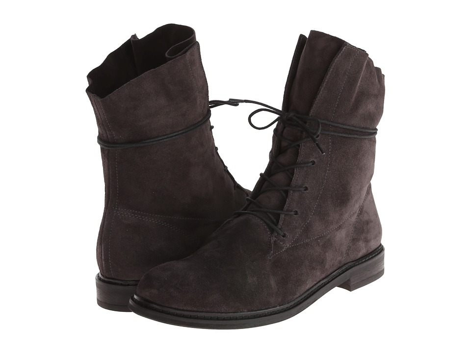 Paul Green - Alamo (Anthrazite Suede) Women's Lace-up Boots