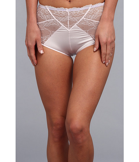 BCBGeneration - The Happily High Waisted Brief (Pearl Haze) Women