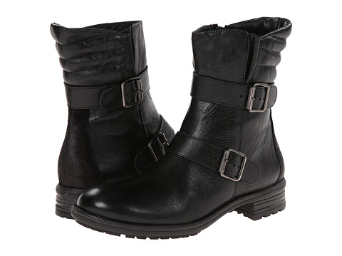 Paul Green - Arizona (Black Leather) Women's Pull-on Boots