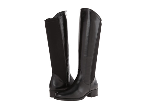 Paul Green - Ashton Boot (Black Leather) Women's Pull-on Boots