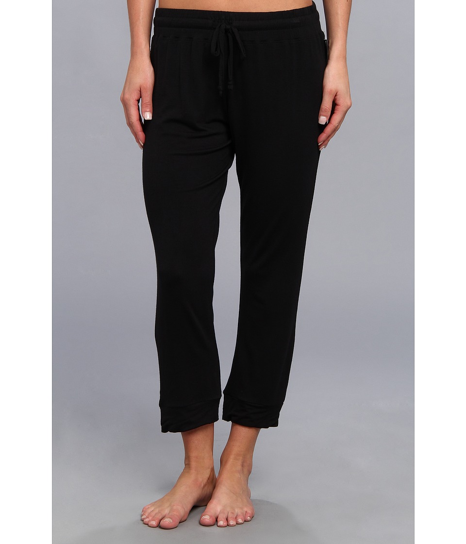 BCBGeneration - The Crush Capri Pant (Black) Women's Pajama