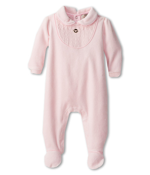 Armani Junior - Quilted Neck Jumpsuit (Infant) (Pink) Boy