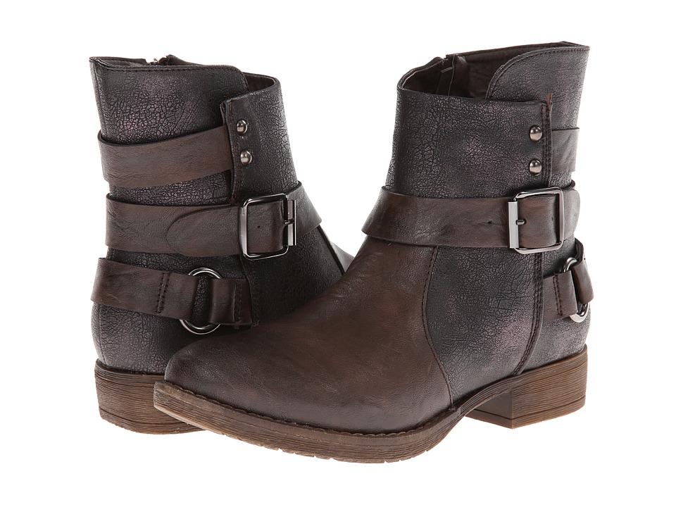 PATRIZIA - Donjon (Brown) Women's Zip Boots