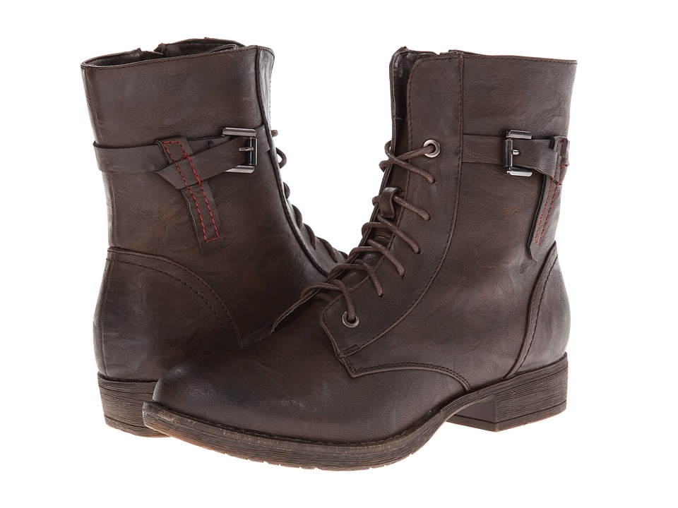 PATRIZIA - Fortress (Brown) Women's Lace-up Boots