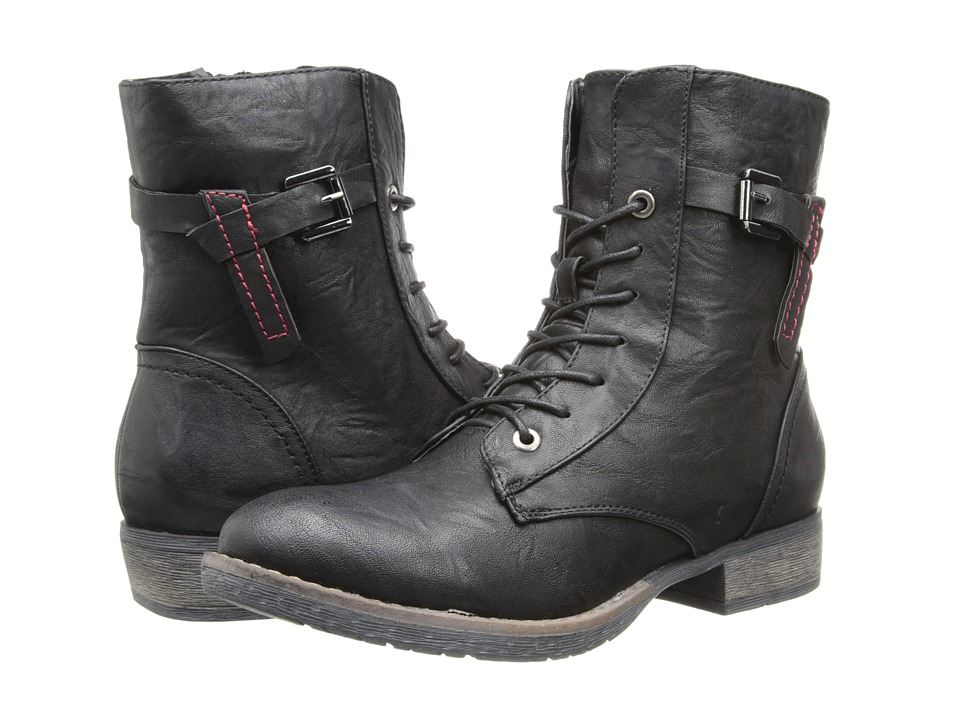 PATRIZIA - Fortress (Black) Women's Lace-up Boots
