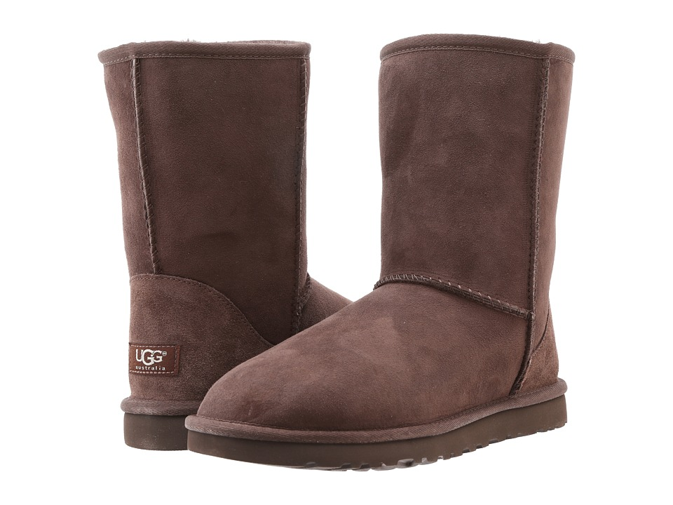 UGG - Classic Short (Chocolate) Women's Pull-on Boots