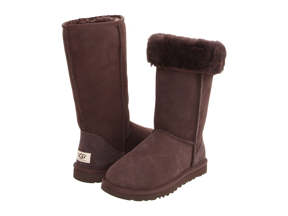 UGG - Classic Tall (Chocolate) Women's Boots