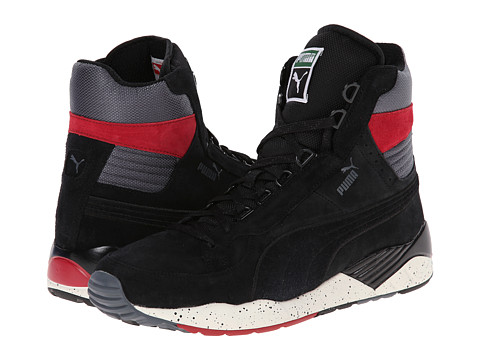 PUMA - Trinomic XS 850 Mid Rugged (Black) Men's Classic Shoes