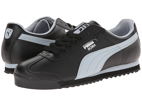 PUMA - Roma Basic (Black/Quarry) Men's Shoes